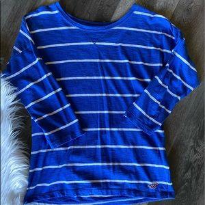 Juniors Hollister long sleeve shirt